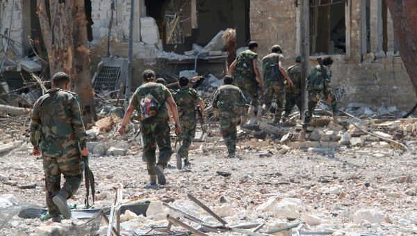 Soldati siriani ad Aleppo - Sputnik Italia