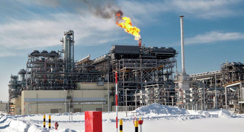 Impianto di gas in Russia