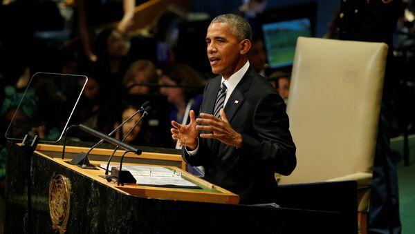 Il discorso di Barack Obama all'Assemblea Generale ONU - Sputnik Italia