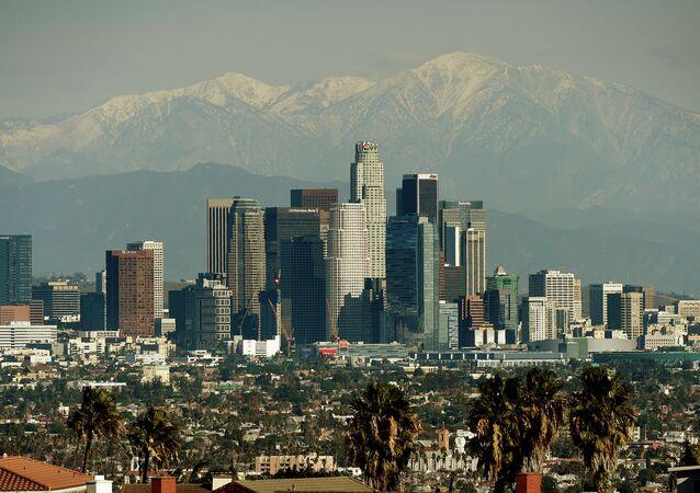 Panorama di Los Angeles, USA.
