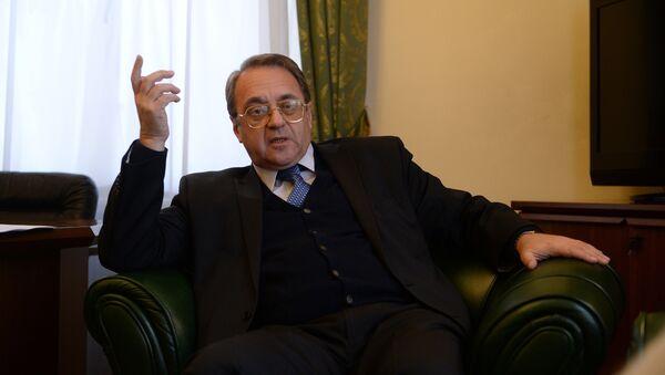 Interview with Russian Deputy Foreign Minister Mikhail Bogdanov - Sputnik Italia