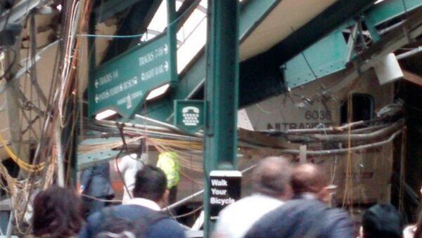 Schianto di un treno in New Jersey - Sputnik Italia