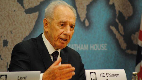 L'ex presidente israeliano Shimon Peres - Sputnik Italia