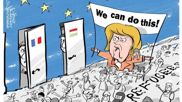 Migranti nell'Europa - Sputnik Italia