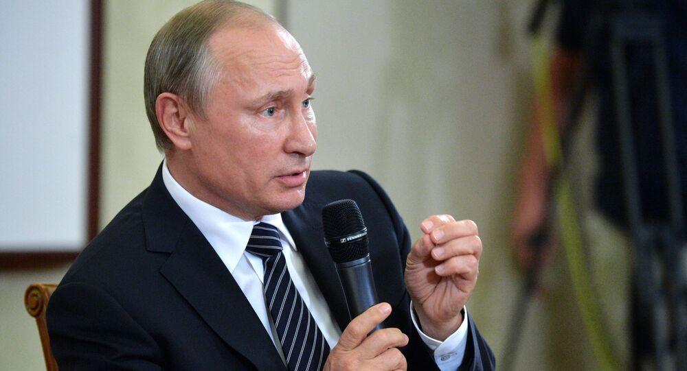 Vladimir Putin a un vertice del G-20.