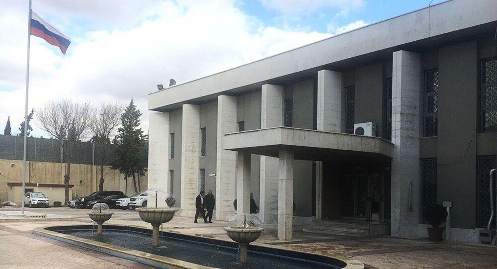 Ambasciata russa a Damasco (foto d'archivio)