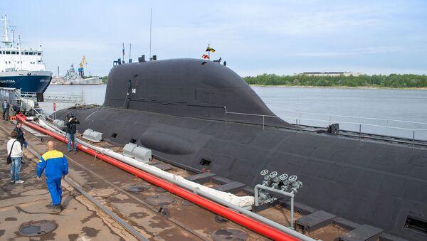 Первая многоцелевая атомная подлодка проекта 885 Ясень Северодвинск в Северодвинске - Sputnik Italia