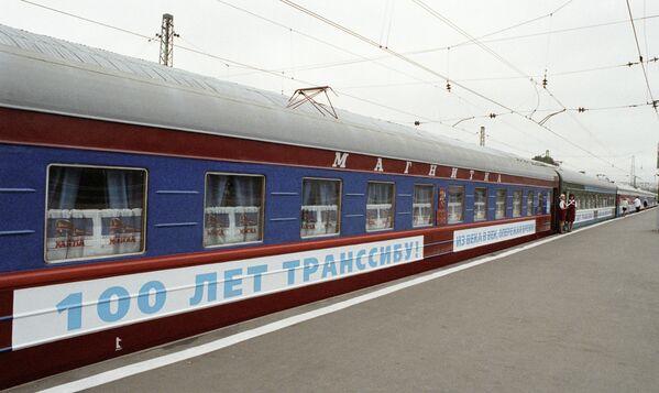 La leggendaria Transiberiana compie 100 anni. - Sputnik Italia