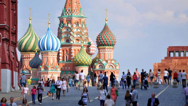 La cattedrale di San Basilio alla Piazza Rossa di Mosca. - Sputnik Italia