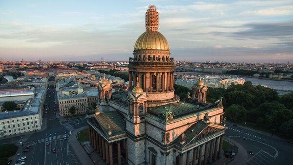 La cattedrale di Sant'Isacco di San Pietroburgo - Sputnik Italia