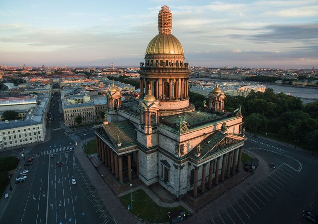 La cattedrale di Sant'Isacco di San Pietroburgo