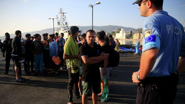 Guardia di frontiera Frontex - Sputnik Italia