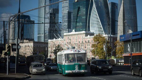 La festa dei filobus a Mosca. - Sputnik Italia