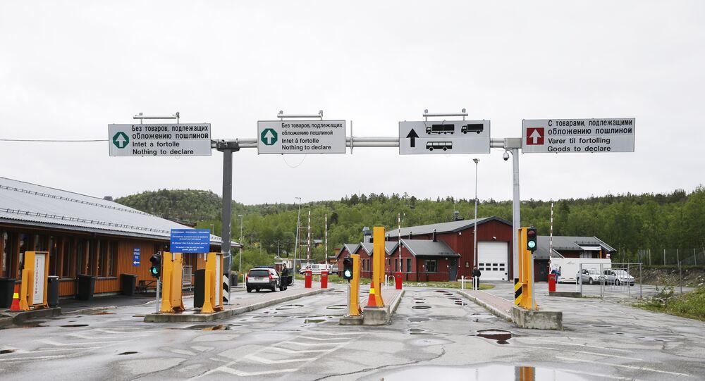 Confine russo-norvegese presso Kirkenes