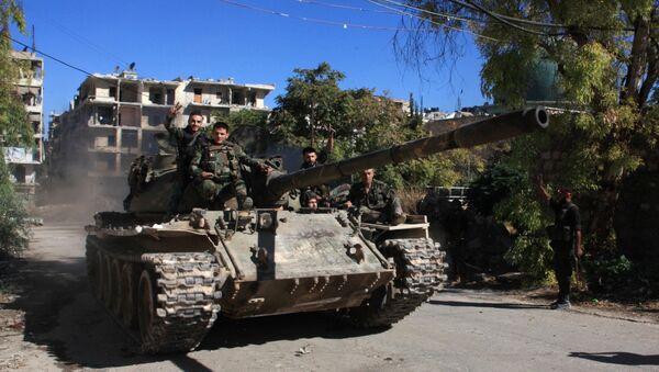 Syrian pro-government forces (File) - Sputnik Italia