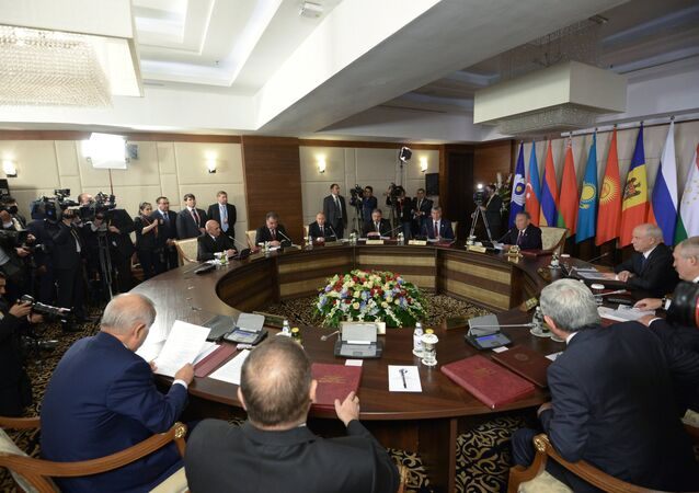 Meeting of the CIS Council of Heads of State