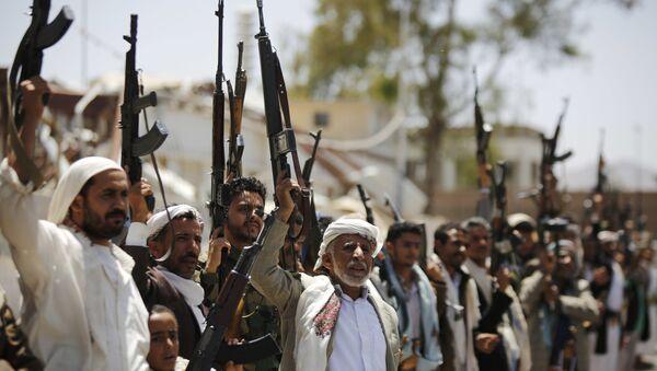 Ribelli Huthi in Yemen - Sputnik Italia