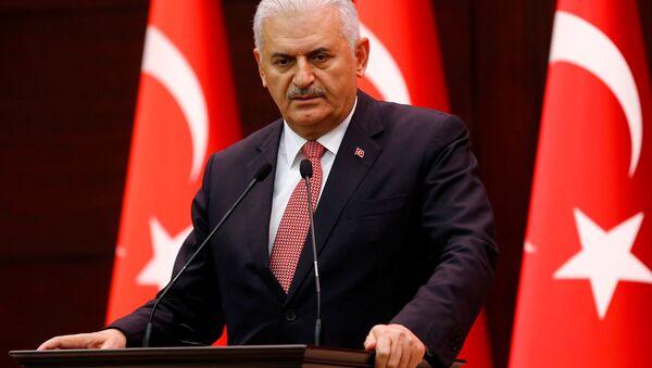 Premier turco Binali Yıldırım - Sputnik Italia