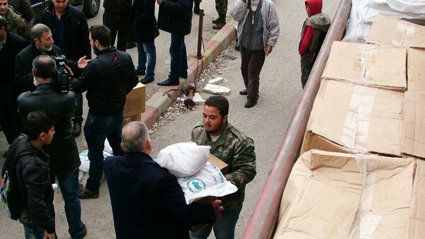 Aiuti umanitari della Russia - Sputnik Italia