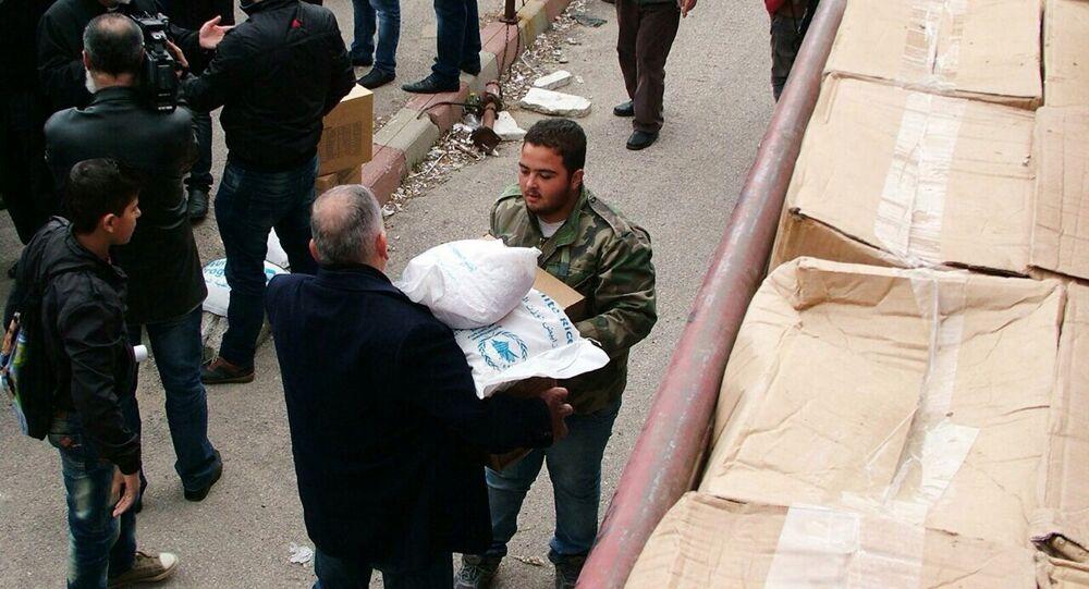 Aiuti umanitari della Russia