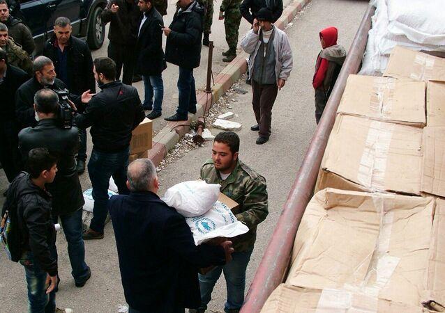 Aiuti umanitari della Russia in Siria
