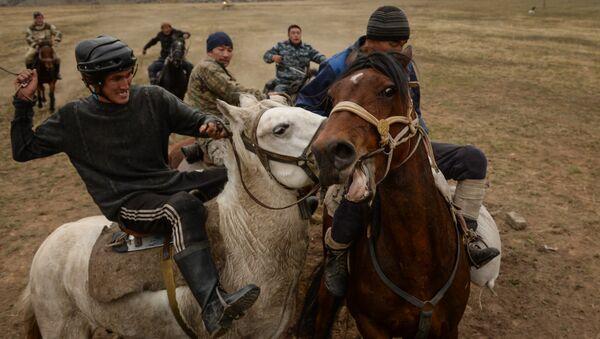 Kok Boru, il rugby delle steppe - Sputnik Italia