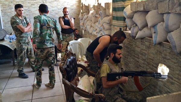 Militari siriani ad Aleppo - Sputnik Italia