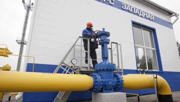 Gazprom's gas distribution station Zapadnaya opened in Belarus - Sputnik Italia