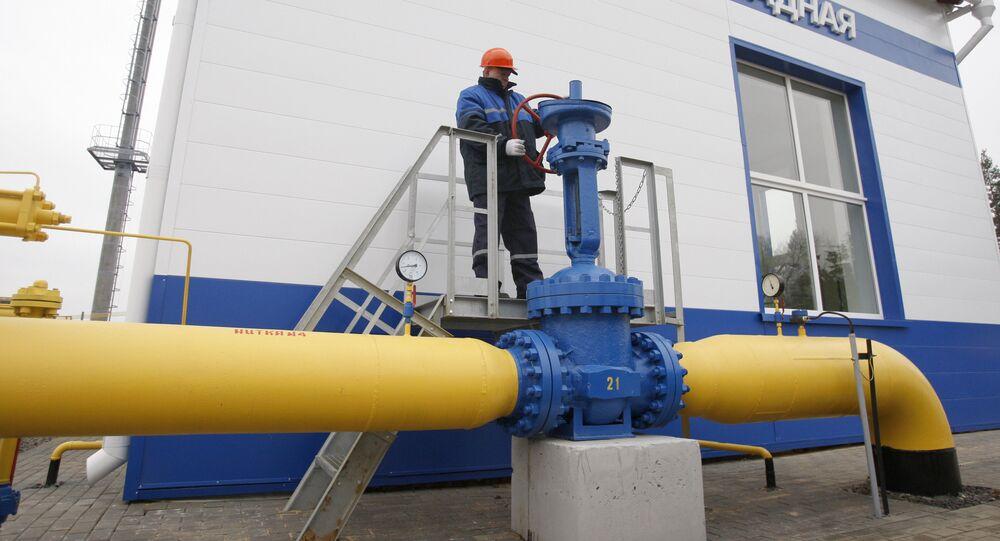 Gazprom's gas distribution station Zapadnaya opened in Belarus