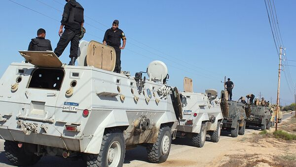 Forze di sicurezza egiziane nel Sinai - Sputnik Italia