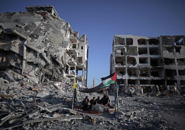 I palestinesi in Gaza