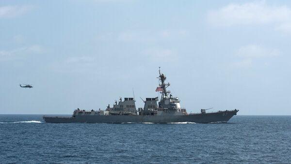 FILE PHOTO - The US Navy guided-missile destroyer USS Mason. - Sputnik Italia