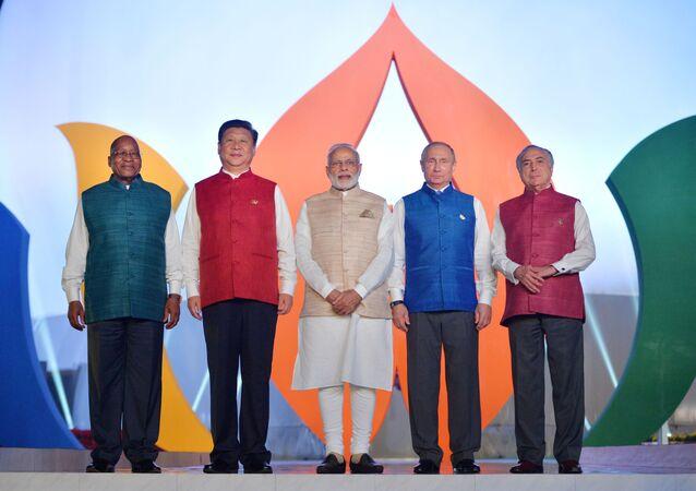 Leader dei Brics a Goa