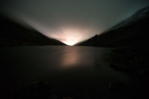 Il sole si leva. Le montagne di Khibiny. - Sputnik Italia