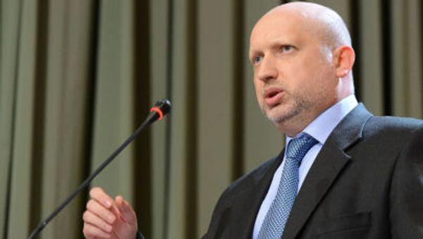 Alexandr Turchinov, Sergetario del Consiglio per la sicurezza e la difesa nazionale dell'Ucraina - Sputnik Italia
