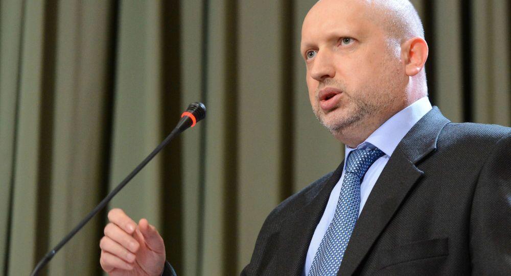 Alexandr Turchinov, Sergetario del Consiglio per la sicurezza e la difesa nazionale dell'Ucraina