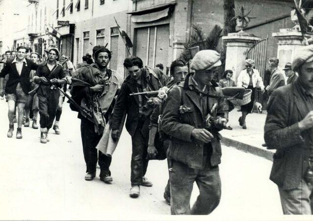 Partigiani. Taggia liberazione,brigata E.Guarrini