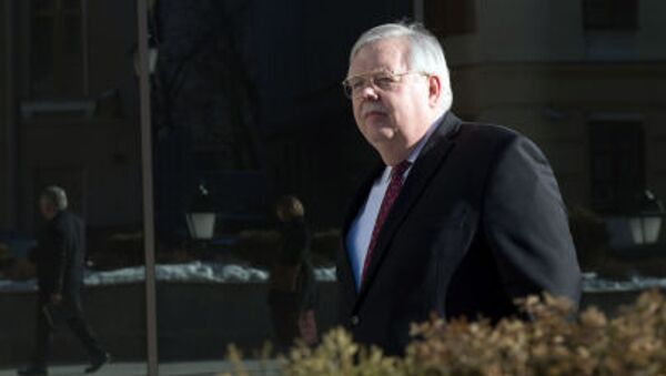 Чрезвычайный и полномочный посол США в России Джон Теффт - Sputnik Italia