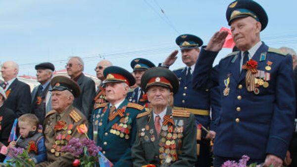 Reduci della Grande guerra Patriottica a Lugansk - Sputnik Italia