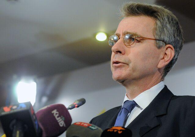 Geoffrey Pyatt, ambasciatore USA in Ucraina (foto d'archivio)