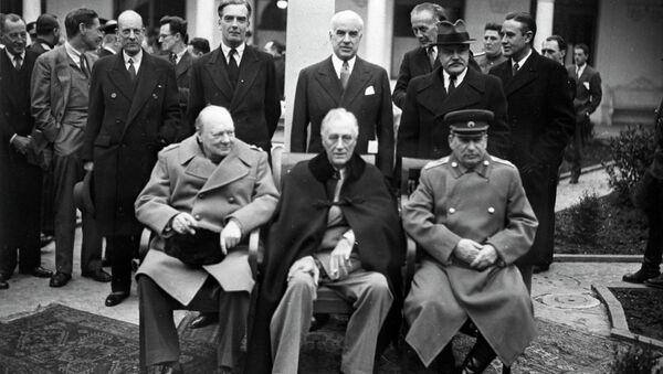 Yalta (Crimea) conferenza dei leader alleati. - Sputnik Italia