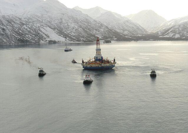 Alaska, piattaforma petrolifera
