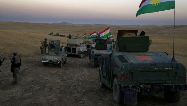 Convoglio di peshmerga nei pressi di Mosul - Sputnik Italia