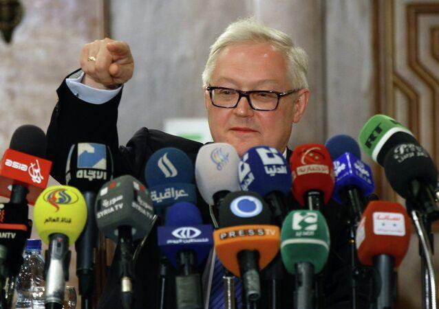 Viceministro degli Esteri russo Sergey Ryabkov
