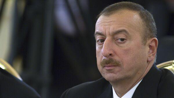 Ilham Aliyev  - Sputnik Italia