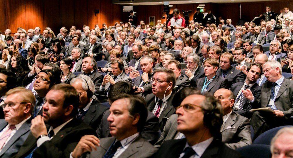 La platea al Forum Euroasiatico di Verona del 2015
