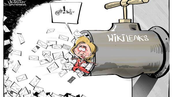 Hillary Clinton Wikileaks - Sputnik Italia
