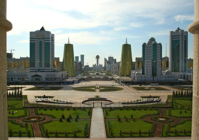 Astana, the capital of Kazakhstan