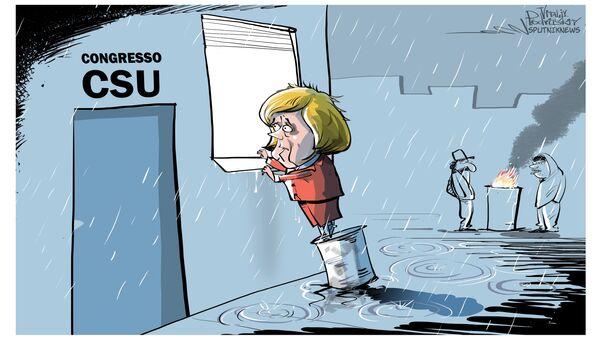 La CSU non invita Angela Merkel al suo congresso - Sputnik Italia