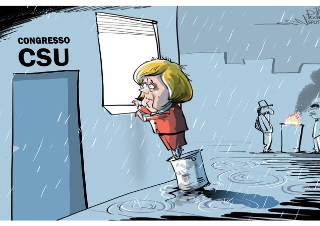 La CSU non invita Angela Merkel al suo congresso